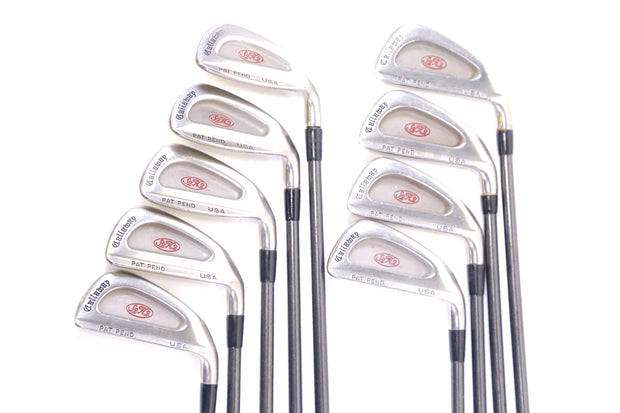 Callaway S2H2 2-9, PW Iron Set Right Handed Graphite Shaft Regular Flex