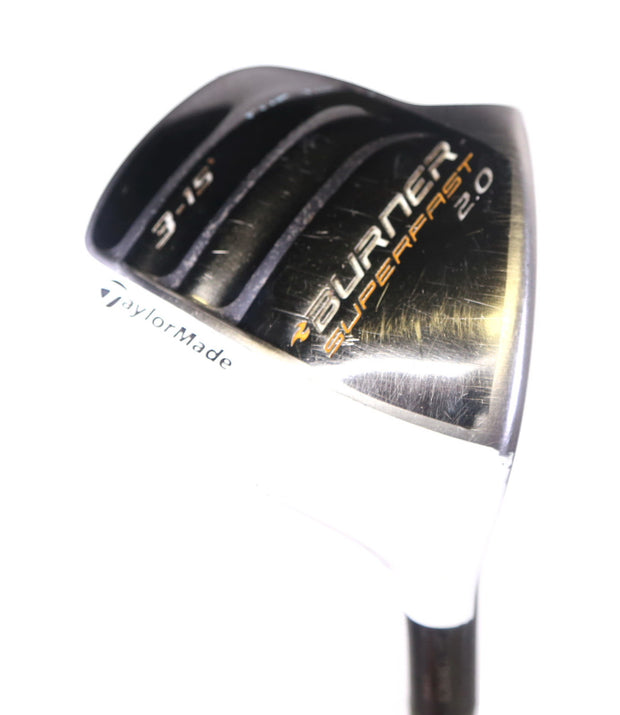 TaylorMade Burner SuperFast 2.0 3 Wood 43in RH 15 Degree Graphite Regular Flex