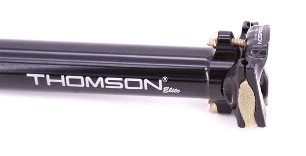 Thomson Elite Seatpost 30.0X330mm Aluminum 0mm Setback Black SP-E148