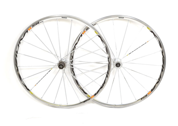 Mavic Ksyrium SL Wheelset Alloy Road Bike 700c 10 Spd Clincher QR