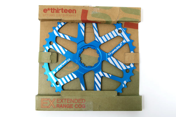 e*thirteen Extended Range Cog 10 speed 42t for 36t SRAM Blue NEW IN BOX