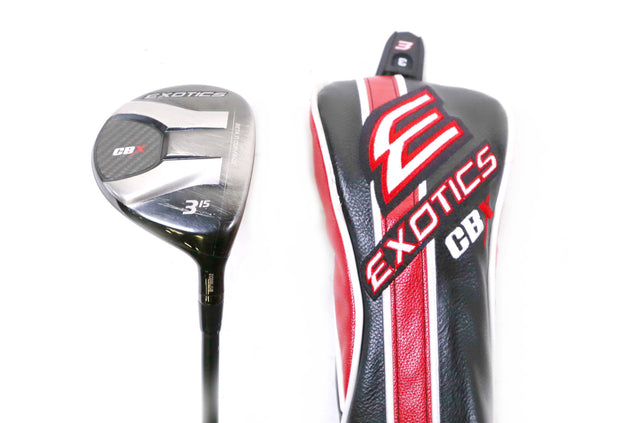Tour Edge Exotics CBX 3 Wood 43 in RH 15 Degree Graphite HZRDUS Stiff Flex Shaft