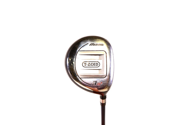 Mizuno T-Zoid 3-Wood 44.5in RH 15 degree T-Zoid 63 Graphite Shaft Stiff Flex