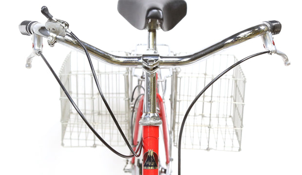 1980 Fuji Cambridge III City Bike M / 52 cm 3 Speed Internal Suntour Vintage Red