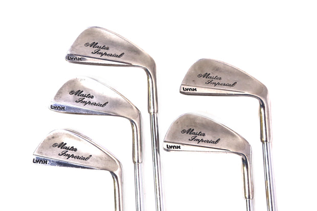 Lynx Master Imperial 4-8 Iron Set Right Handed Steel Shaft Men's U.S.A. Vintage