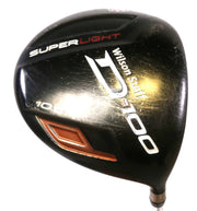 Wilson D100 Driver 45in RH 10.5 Degree Matrix Ozik Graphite Shaft Senior Flex