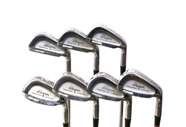 Ben Hogan Edge Forged 5-9, SW, EW Iron Set Right Handed Steel Shafts