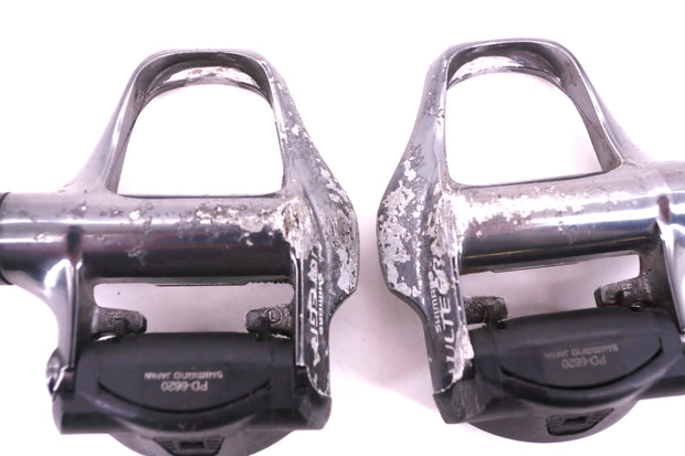Shimano Ultegra PD-6620 Road Bike Clipless Pedals Silver SPD