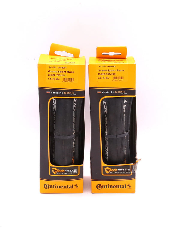 Continental Grand Sport Race Road Bike Tire Pair 700x23C Clincher NEW