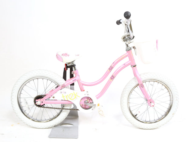 "Trek Mystic Girls Bike 16"" Wheels Coaster Brake Single Speed Pink"