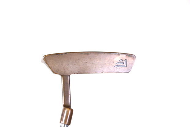 Founders Club MPF 5 Series Brass Putter 34 in RH Steel Shaft