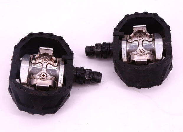 Shimano PD-M424 SPD Clipless Bike Pedals Black