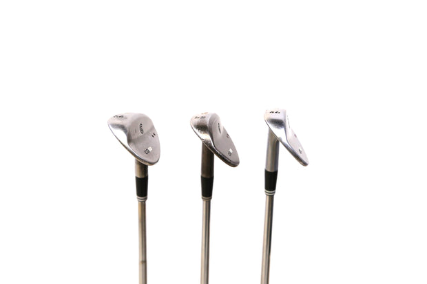 Cleveland CG10 Pitching, Gap, Sand Wedge Set Right Handed Steel Shaft Wedge Flex