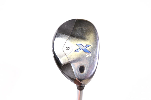 Callaway X 5 Hybrid 39 in Right Handed 27 Degree Steel Uniflex Shaft
