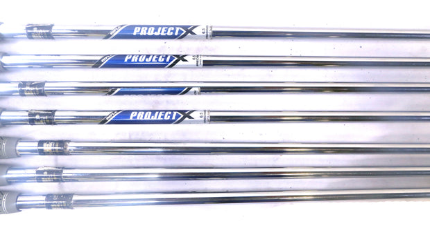 Mizuno MP-59 4-PW Iron Set RH Steel True Temper Project X Extra Stiff Flex