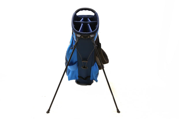 Callaway Chev Stand Golf Bag 7 Way Divider Men's Blue 6 pockets Dual Straps