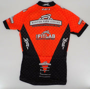 CAPO Corsa Winter Park Cycles S/S Cycling Jersey XS Orange/Black NEW