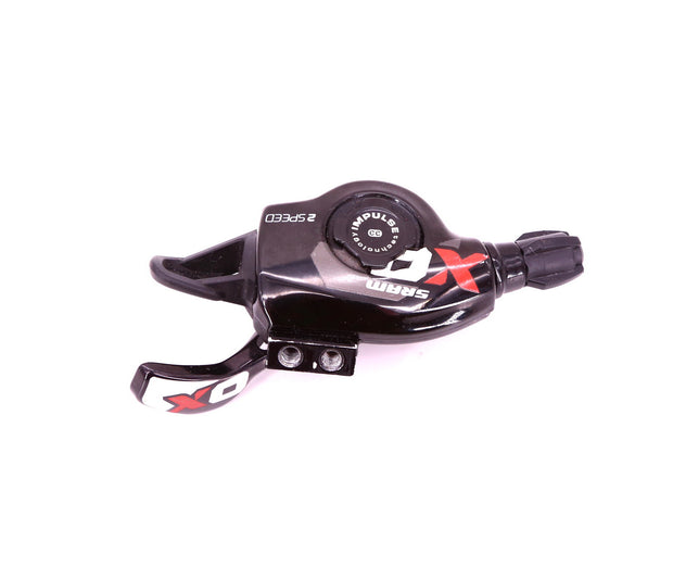 SRAM XO 2 Speed Mountain Bike Left / Front Trigger Shifter Carbon Black MTB
