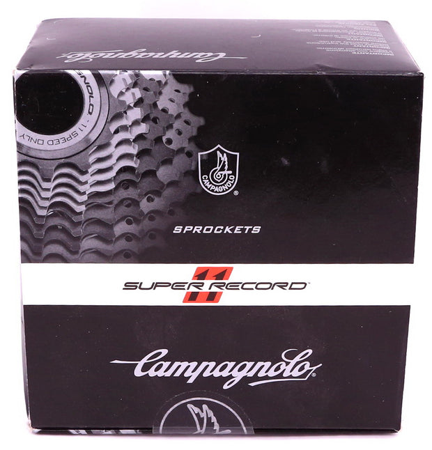Campagnolo Super Record 11 Speed Titanium Sprockets 12-25t Cassette New In Box
