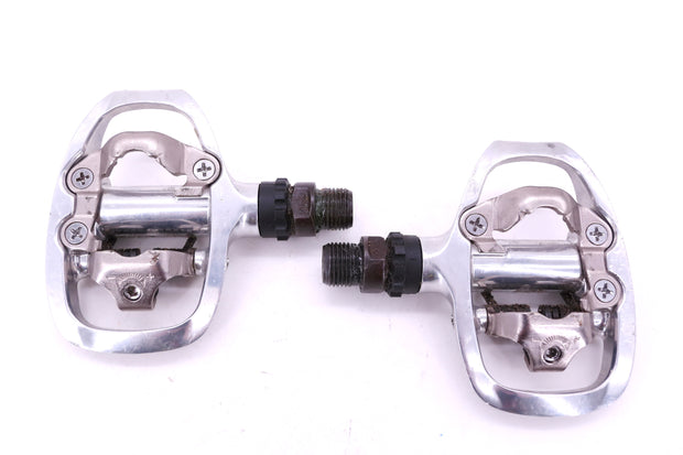 Shimano PD-A520 Road Bike Clipless SPD Pedals Silver