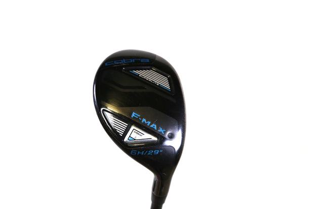 Cobra F-Max 6 Hybrid 37 in RH 29 Degree Graphite SuperLite Ladies Flex Shaft