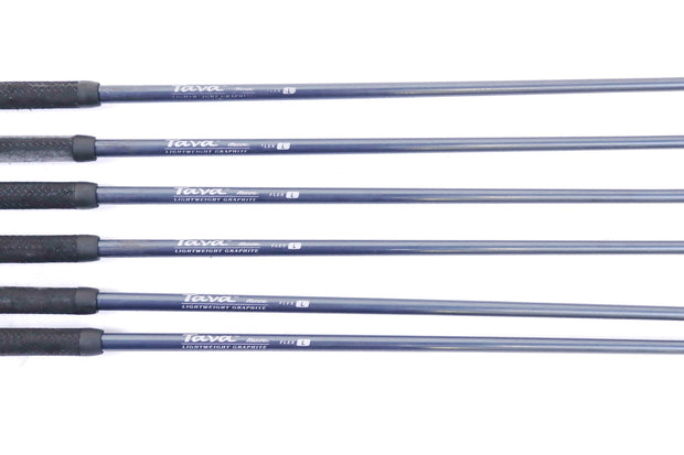 Mizuno Tava 6-9, SW, PW Iron Set Right Handed Graphite Tava Ladies Flex Shafts
