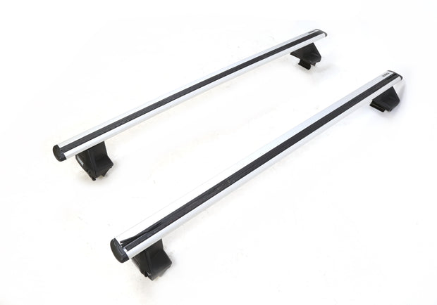 "Thule Evo WingBar Roof Rack System / Crossbars With Evo Clamp 53"" 7105"