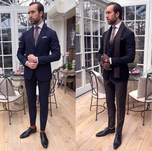 Styling With Black Dress Shoes – Thomas