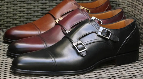 Wedding shoes - monk straps