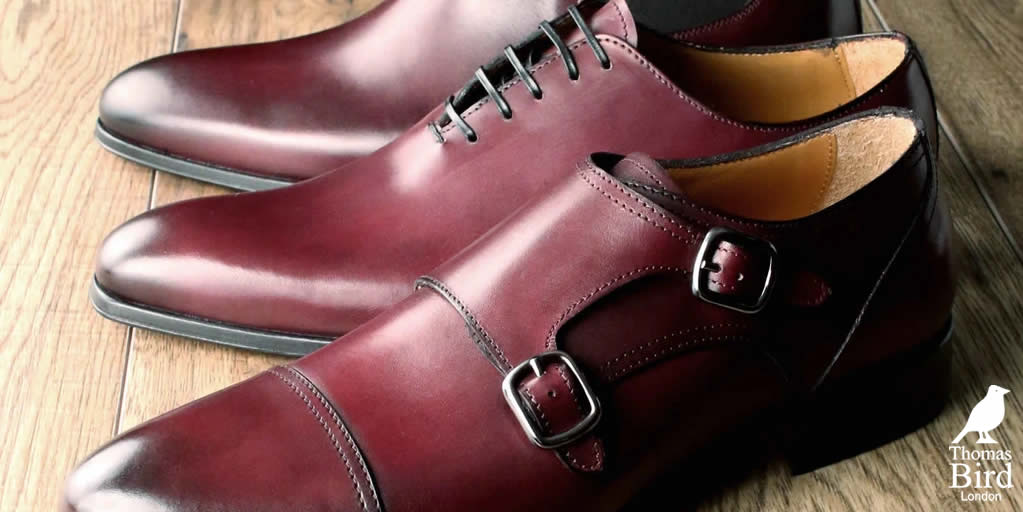 Oxblood dress shoes and boots