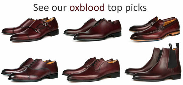 Our top oxblood styles