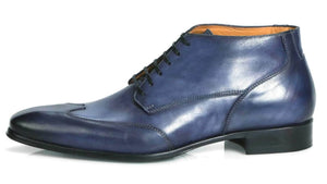 Newton Wingcap Chukka Boot - Blue
