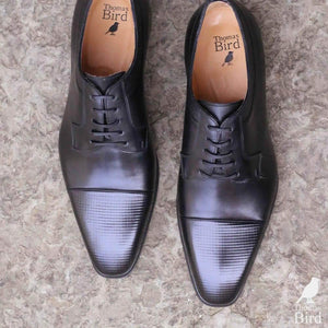 Richmond Cap Toe Derby - Black