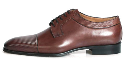 Wholecut shoes - Richmond Cap Toe Derby - Tan