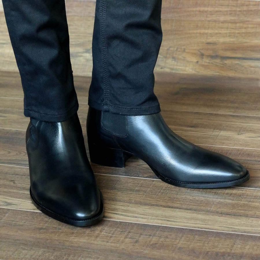 Mens Boots - Fleetwood Chelsea Boot - Black