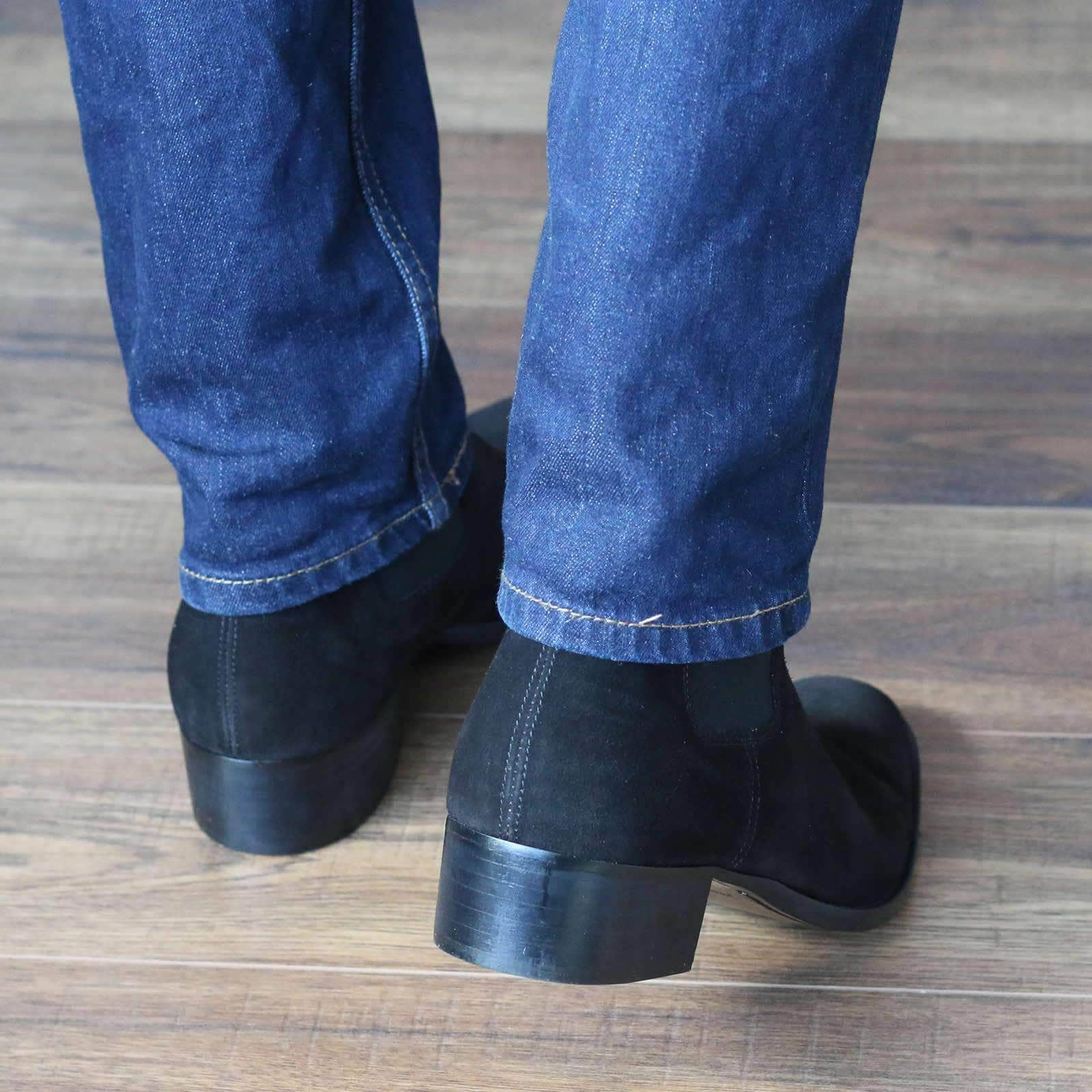 Fleetwood Chelsea Boot - Black Suede