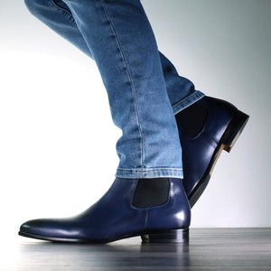 chelsea boot blue eastwood 3