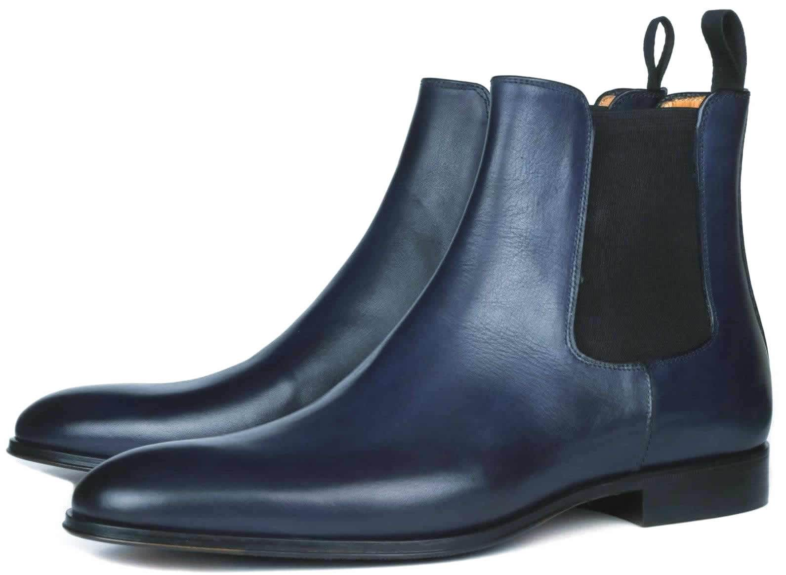 Eastwood Chelsea Boot - Blue
