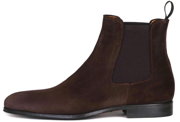 Eastwood Chelsea Boot - Dark Brown Suede