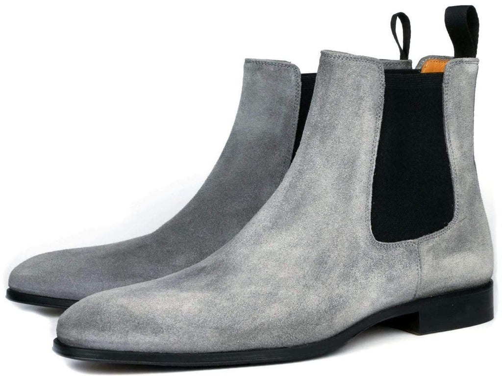 Eastwood Chelsea Boot - Grey Suede