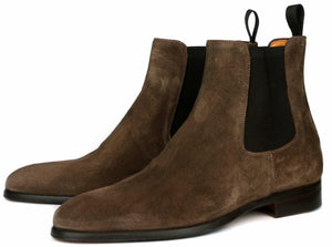 Eastwood Chelsea Boot - Mocha Brown Suede