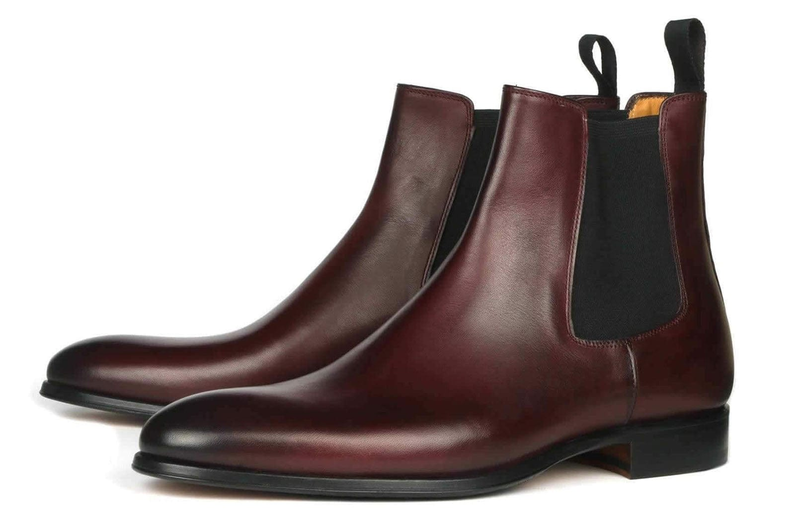 Eastwood Chelsea Boot - Oxblood Burgundy