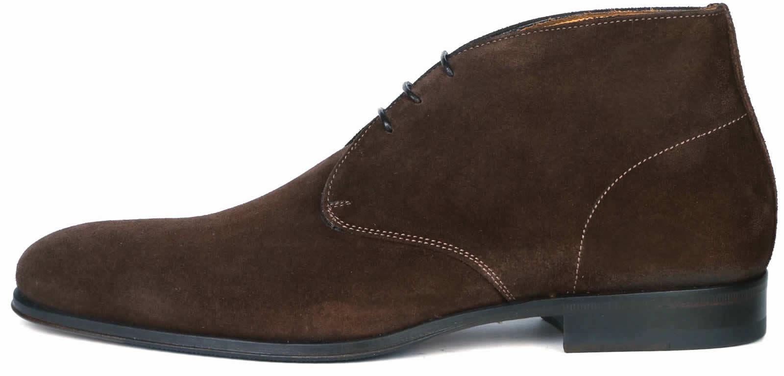Hamilton Chukka Boot - Brown Suede