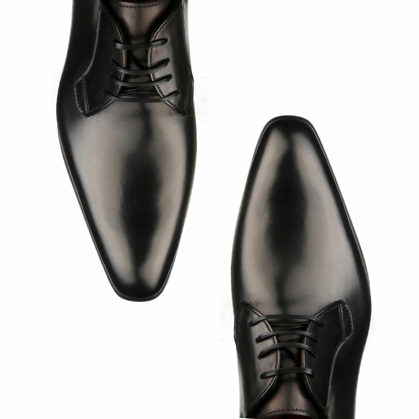 Buckingham Derby Blucher - Black