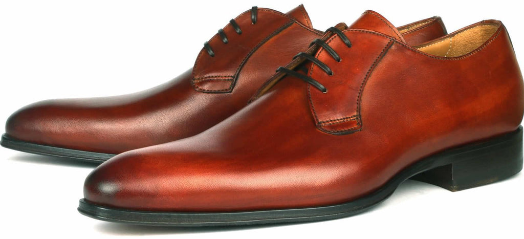 Buckingham Derby Blucher - Chestnut