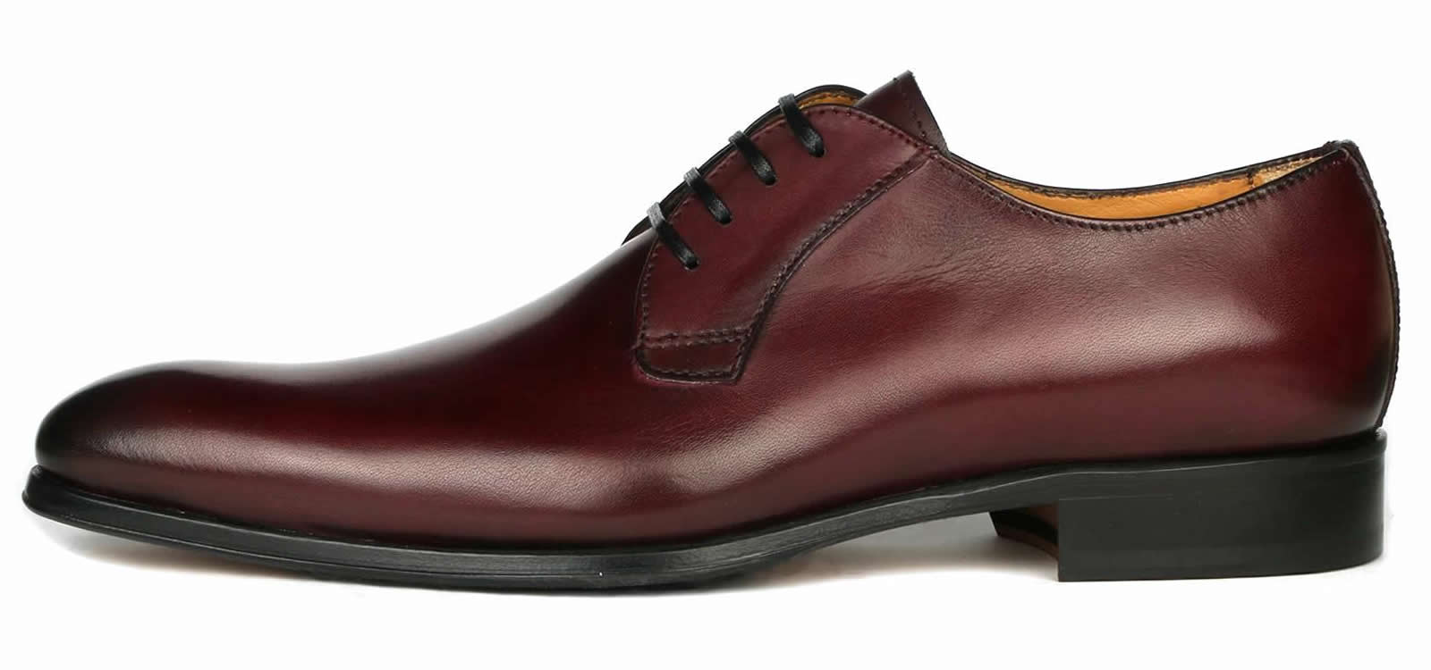 Buckingham Derby Blucher - Oxblood