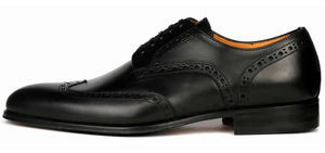 Madison Wingtip Derby Brogue - Black