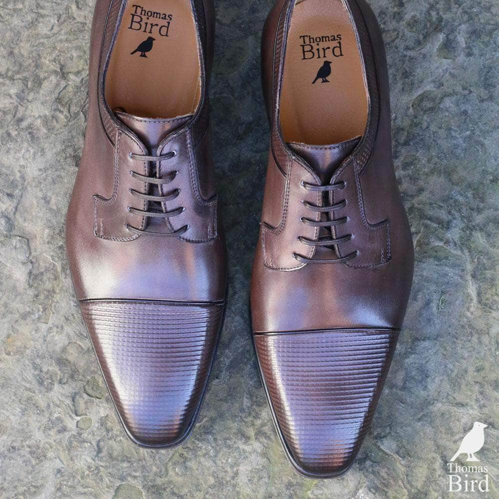 Richmond Cap Toe Derby - Walnut Brown