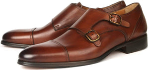 Bourne Monk Strap RB - Tan