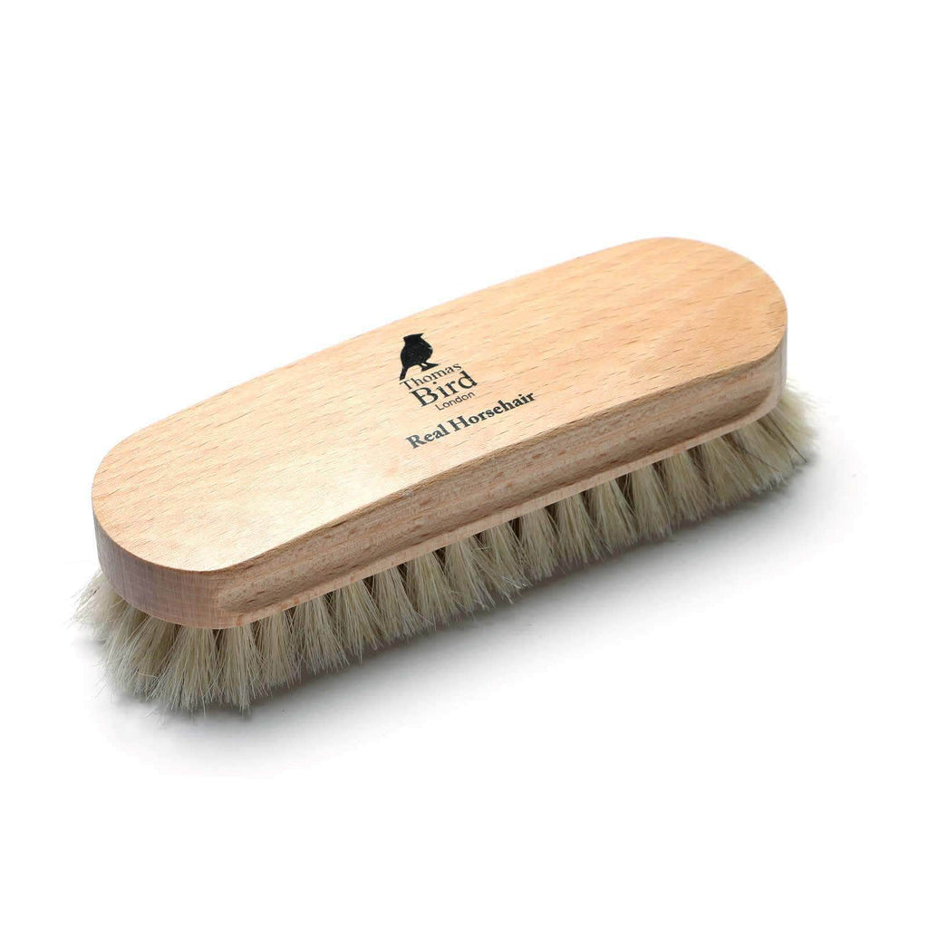Horsehair Beechwood Shoe Brush